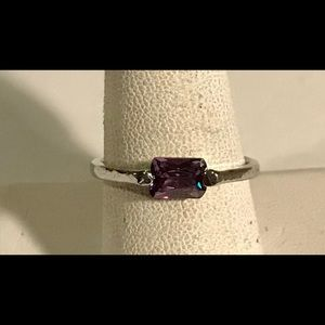 Dinty purple fashion ring size 9